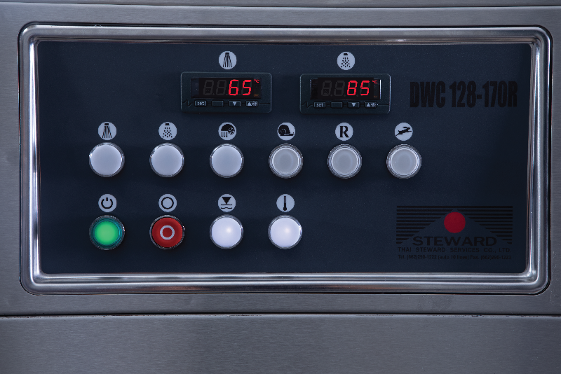 Disinfect and inhibit the growth of bacteria With a washing temperature of 75 - 85 degrees Celsius